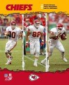 Trent Green, Tony Gonzalez, Larry Johnson Chiefs 2006 8X10 Photo