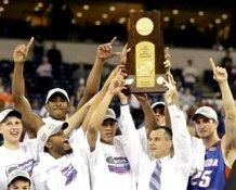 Billy Donovan & Team Celebrate 2006 National Championship Florida Gators 8X10 Photo
