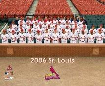 Cardinals 2006 St. Louis Team Sitdown 8X10 Photo