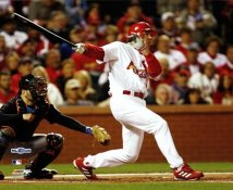 Scott Spiezio Game 3 NLCS St. Louis Cardinals 8X10 Photo