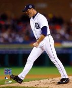 Kenny Rogers Game 2 WS Detriot Tigers 8X10 Photo