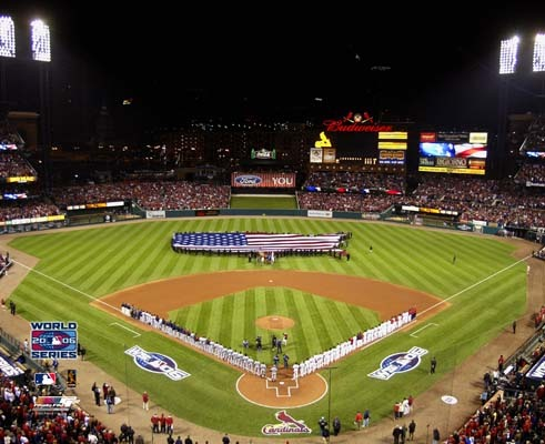 New Busch Stadium 2006 World Series Game 3 St. Louis 8X10