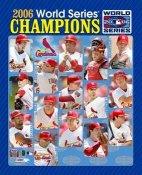 Cardinals 2006 World Series Composite 8X10 Photo