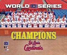 Cardinals 2006 World Series Team Photo 8x10