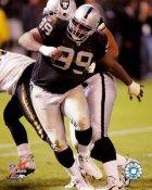 Warren Sapp LIMITED STOCK Oakland Raiders 8X10 Photo