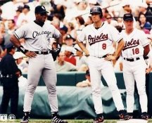 Cal Ripken Jr. & F. Thomas Baltimore Orioles 8X10 Photo