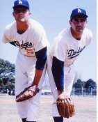 Sandy Koufax & Don Drysdale LA  Dodgers 8X10 Photo LIMITED STOCK