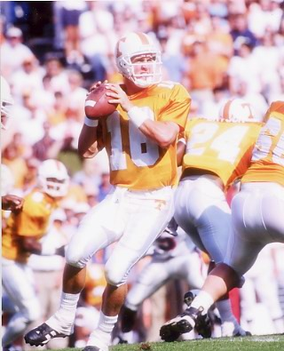 Peyton Manning Tennessee Vols 8X10 Photo