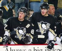 Evgeni Malkin & Sidney Crosby LIMITED STOCK Pittsburgh Penguins 8x10 Photo