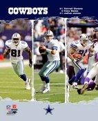 Tony Romo Terrell Owens Julius Jones Cowboys Big 3 LIMITED STOCK 8X10 Photo