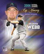 Brandon Webb 2006 Cy Young LIMITED STOCK 8X10 Photo