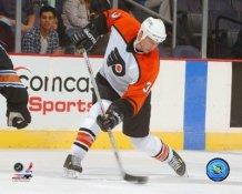 Mike Rathje Philadelphia Flyers 8x10 photo