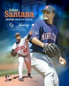 Johan Santana 2006 Cy Young LIMITED STOCK Twins 8X10 Photo