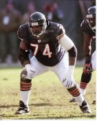 Ruben Brown LIMITED STOCK Chicago Bears 8X10 Photo