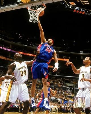Rasheed Wallace 2004 NBA Finals Pistons 8X10 Photo LIMITED STOCK