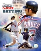 Joe Mauer LIMITED STOCK 2006 Batting Title Twins 8X10 Photo