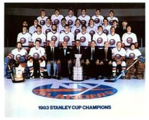Islanders 1983 Stanley Cup Champs Team 8x10 Photo