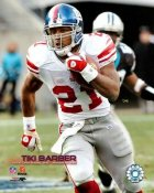 Tiki Barber 10,000 Yards Giants 8X10 Photo