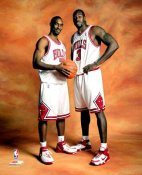 Ben Gordon & Ben Wallace Bulls 8X10 Photo LIMITED STOCK