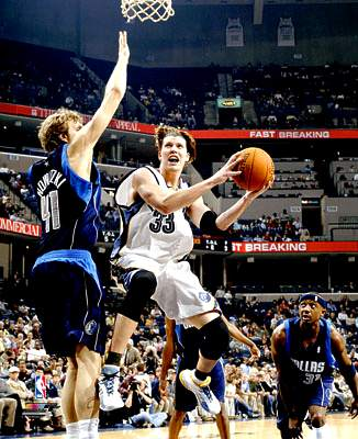 Mike Miller Memphis Grizzlies 8X10 Photo LIMITED STOCK