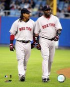 Manny Ramirez David Ortiz LIMITED STOCK Boston 8x10 Photo