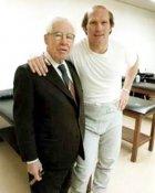 Art Rooney & Terry Bradshaw Steelers 8x10 Photo