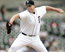 Bobby Seay Detroit Tigers 8X10 Photo