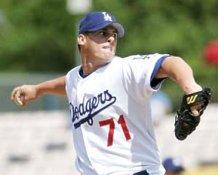 Chad Billingsley LA Dodgers 8x10 Photo