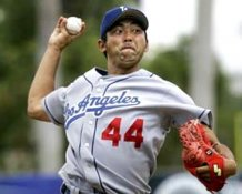 Takashi Saito LA Dodgers 8x10 Photo