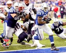 Joseph Addai LIMITED STOCK AFC Champs Game Colts 8X10 Photo