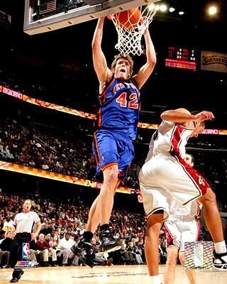 David Lee LIMITED STOCK New York Knicks 8X10 Photo