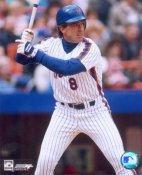 Gary Carter 3 New York Mets 8X10 Photo