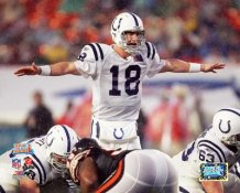 Peyton Manning Super Bowl 41 Colts 8X10 Photo