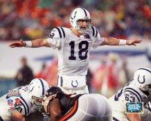 Peyton Manning Super Bowl 41 Colts 8X10 Photo