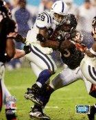 Joseph Addai LIMITED STOCK Super Bowl 41 Colts 8X10 Photo