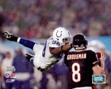 Robert Mathis LIMITED STOCK Super Bowl 41 Colts 8X10 Photo