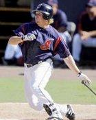 Jason Michaels Cleveland Indians 8X10  Photo