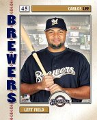 Carlos Lee 2006 Studio Brewers 8X10 Photo