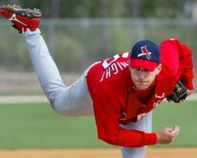 Adam Wainwright St Louis Cardinals 8X10 Photo