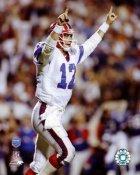 Jim Kelly Super Bowl 25 Bills SATIN 8X10 Photo LIMITED STOCK