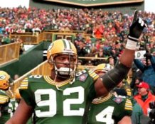 Reggie White Green Bay Packers 8X10 Photo