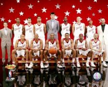 Kobe Bryant & 2007 All Star Game West Team 8x10 Photo LIMITED STOCK