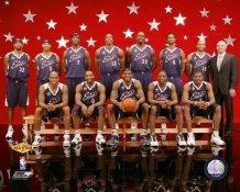 Shaq O'Neal & Dwyane Wade LIMITED STOCK 2007 All-Star East Team 8x10 Photo