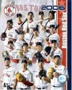 Alex Gonzalez, Kevin Youklis, Trot Nixon, Manny Ramirez, David Ortiz, Jason Varitek Boston 2006 Red Sox Team LIMITED STOCK 8x10 Photo