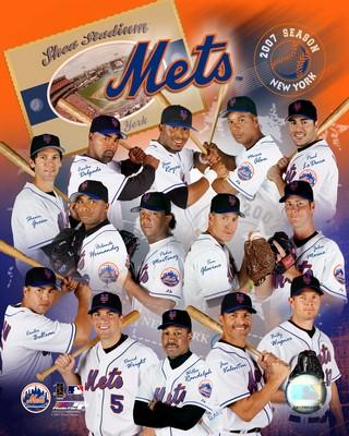Mets 2007 Team Composite 8X10 Photo