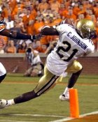Calvin Johnson Georgia Tech 8X10 Photo