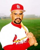 Jose Oquendo St. Louis Cardinals 8X10 Photo