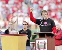 Tony La Russa 2006 World Series Parade Cardinals 8x10 Photo