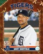 Gary Sheffield Detroit Tigers 8X10 Photo