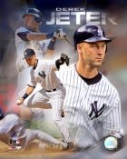 Derek Jeter LIMITED STOCK Composite 2007 Yankees 8X10 Photo